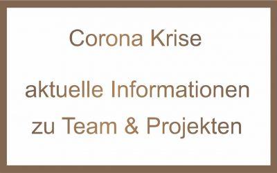 Corona Krise -Informationen